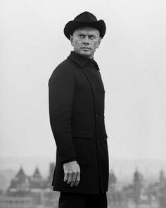 Yul Bryner, 1968 By Patrick Lichfield