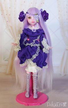 Monster High Custom Repaint Art doll OOAK