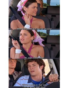 The OC..sadly I have seen the entire series 2 times because the girlz watched it..pretty tame by today's standards!!