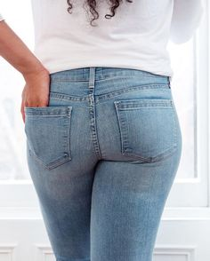 Side effects of The Perfect Fit may include: confidence inducing curve-contouring, killer rear views and, oh yeah, feeling totally amazing.