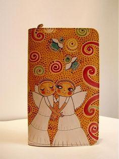 ArtToWear / Peňaženka - Anjelici Ale, Notebook, Ale Beer, The Notebook, Ales, Exercise Book, Beer, Notebooks