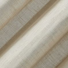 Shop for Archaeo Slub Textured Linen Blend Grommet Top Curtain. Get free delivery On EVERYTHING* Overstock - Your Online Home Decor Outlet Store! Cool Curtains, Beautiful Curtains, Hanging Curtains, Curtain Fabric, Curtain Rods, Curtain Styles, Sheer Fabrics, Kitchen Curtains