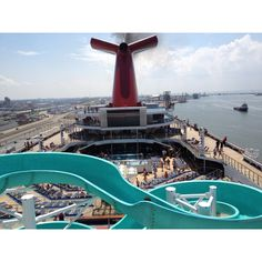 Slide. Carnival Triumph--I'm sure it'll be a favorite with my son