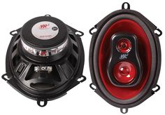 5 X 7 Three Way Car Speaker Pair - 4 ohm / 100W Peak http://www.mcmelectronics.com/product/DISTRIBUTED-BY-MCM-RS570-680-/58-17140