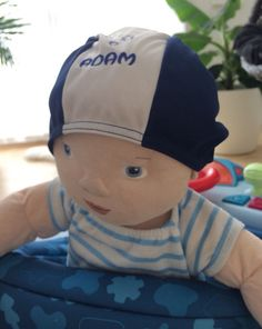 Items similar to Swimming cap, hat, badehette, suitable for kids from newborn to years old. Embroidered with a name of the child or a logo on Etsy Swim Caps, 7 Year Olds, Caps Hats, Children, Kids, My Etsy Shop, Swimming, Trending Outfits, Shopping