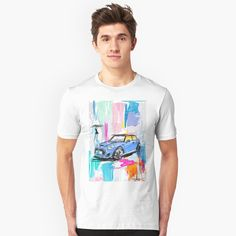 """Mini JJ2 abstract New York"" T-shirt by Pagarelov 