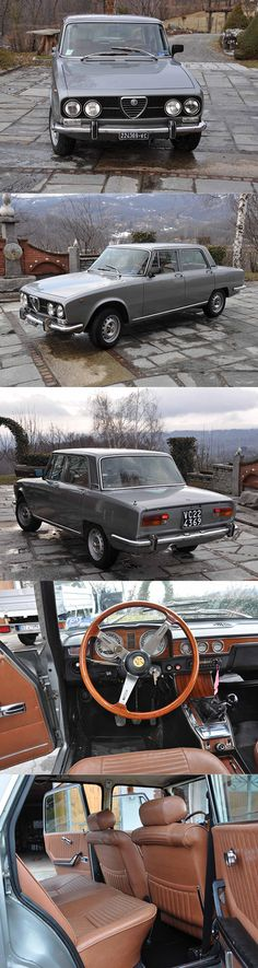 1971 Alfa Romeo 2000 Berlina / Giorgetto Giugiaro Bertone / Italy / silver / 130 hp