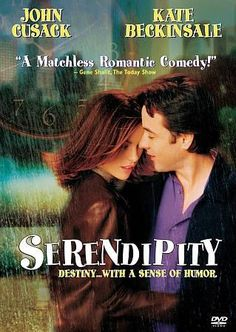 Serendipity Film In Hd. A couple search for each other years after the night they first met, fell in love, and separated, convinced that one day they'd end up together. Chick Flicks, Film Music Books, Music Tv, Bon Film, See Movie, Movie List, Crazy Movie, Film Movie, Movie Posters