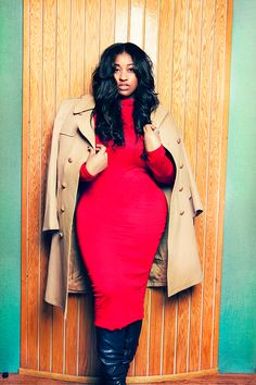 """Jazmine Sullivan by Clayton Roulhac-Carr "" BGKI - the #1 website to view fashionable & stylish black girls shopBGKI today"