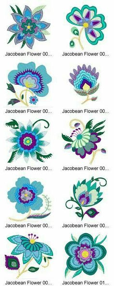 Grand Sewing Embroidery Designs At Home Ideas. Beauteous Finished Sewing Embroidery Designs At Home Ideas. Bordado Jacobean, Crewel Embroidery Kits, Embroidery Applique, Beaded Embroidery, Cross Stitch Embroidery, Machine Embroidery, Embroidery Needles, Floral Embroidery Patterns, Flower Embroidery