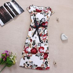 Summer 2014 Women Clothing Vintage Lace Plus Size Casual Print Dress Vestidos Flower Long Maxi Runway Embroidery Party Dress Sexy Lace Dress, Plus Size Casual, Vintage Lace, Vintage Outfits, Party Dress, Short Sleeve Dresses, Clothes For Women, Elegant, Summer 2014