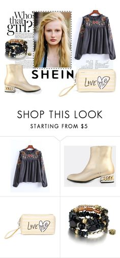 """SHEIN"" by melkahu ❤ liked on Polyvore"