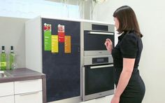 this is a prototype fridge, so it isn't on the market yet, but the concept is incredible. take a look!
