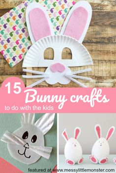Adorable Easter Bunny Crafts