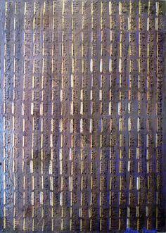 Collection Nama Japa n°3.  Tableau 30 X 42 cm.  Technique mixte sur bois.