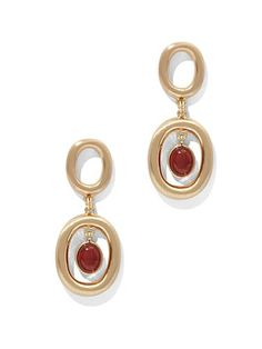 Shop Eva Mendes Collection - Semiprecious Stone Drop Earring . Find your perfect size online at the best price at New York