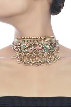 Gold Jewelry Design In India Indian Jewelry Earrings, Indian Wedding Jewelry, India Jewelry, Jewelery, Silver Jewelry, Bridal Jewellery, Silver Rings, Quartz Jewelry, Silver Bracelets