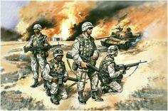 Fuerzas de élite de los EE.UU. en Irak. Valery Rudenko. Más en www.elgrancapitan.org/foro