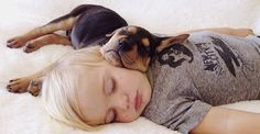 Toddler naps with his 2-month-old puppy every day [15 pictures] SOOOOOOOOOOOOOO CUTE !!!!!!!!!