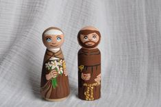 St. Francis of Assisi Peg Doll