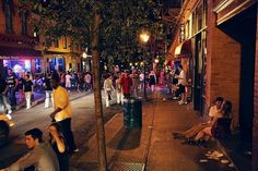 You know that Caroline Street has some pretty great nightlife (especially for a city that's so small).