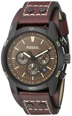 Fossil Men's CH2990 Coachman Chronograph Watch https://www.watchreviewblog.com/fossil-mens-ch2990-coachman-chronograph-watch-review/