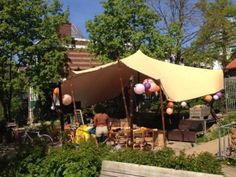 stretchtent podiumoverkapping - Meintent Patio, Tents, Outdoor Decor, Brunch, Home Decor, Teepees, Decoration Home, Room Decor, Home Interior Design