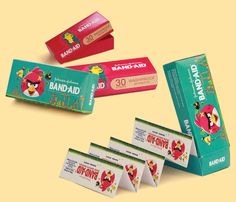 """Check out this @Behance project: """"band-aid package"""" https://www.behance.net/gallery/33779148/band-aid-package"""