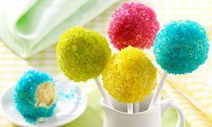 Neon Cakepops opskrift | Dr. Oetker