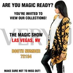 Are you guys in Las Vegas this week? Don't forget to check us out!  www.veryj.com  #veryj #lasvegas #lvnv #magic #themagicshow #nevada #beauty #ootd #ootn #summer #fall #winter #instafashion #instadaily #instamood #beautiful #aztec #pretty #cute #fashionweek #thenewchic #magicready #dtla #losangeles #fashionmart #downtown #artsdistrict