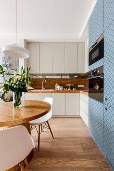 Our photoshoot of apartment design by JT Grupa Architects 2 : Skandynawska kuchnia od Ayuko Studio