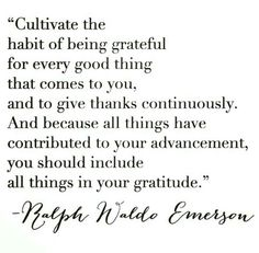 And that's why daily i express gratitude for even the smallest things in my life.