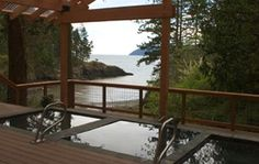 doe bay (hippie) resort, orcas island, washington (those are the outdoor, clothing-optional hot tubs overlooking the bay!) janette-places-i-loved-visiting