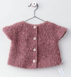 Zephyr model cardigan baby