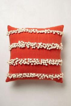 Tassel Trace Pillow by: Anthropologie