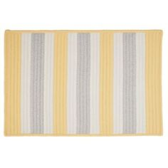 Colonial Mills Striped Delight Braided Reversible Indoor Outdoor Rug - 4' x 6'