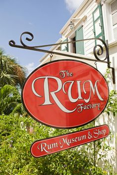 Sign The Rum Factory.