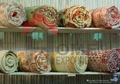 Warm up to Florals & Geometrics in Quilts... source these and more at The Home Expo India, 2015 #homeexpo #hometextiles