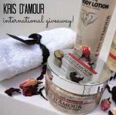 Win kris damour beauty products ^_^ http://www.pintalabios.info/en/fashion_giveaways/view/en/2338 #International #Cosmetic #bbloggers #Giweaway