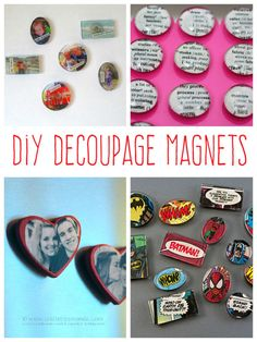 Decoupage Magnets You Can Make | eBay