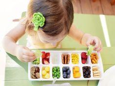 Ice cube tray as food tray
