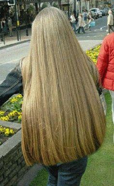 Pin by paola bugna on wonderful! Long Silver Hair, Long Dark Hair, Long Blond, Thick Hair, Beautiful Long Hair, Gorgeous Hair, Shaved Hair Women, Long Hair Ponytail, Super Long Hair