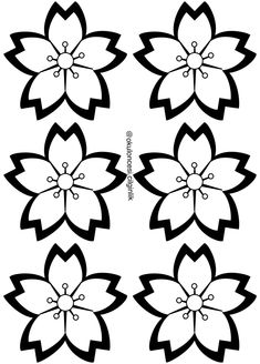 Butterfly Template, Flower Template, Hand Embroidery Designs, Embroidery Patterns, Diy Arts And Crafts, Paper Crafts, Seed Bead Flowers, Decorated Wine Glasses, Crafts For Seniors