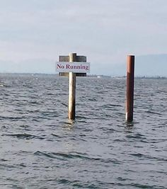 Picture taken of sea .. Behave yourself Jesus!