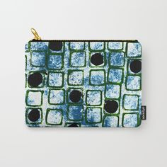 """Space Window"" by #artsycrafterystudio. Organize your life with our Carry-All Pouches. Available in three sizes with wraparound artwork, these pouches are perfect for toiletries, art supplies or makeup. Even an iPad fits into the large size. Features include a faux leather pulltab for easy open and close, a durable canvas-like exterior and a 50/50 poly-cotton black interior lining. Machine washable."