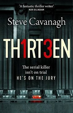 """Thirteen"" Steve Cavanagh"