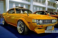 Japanese Mustang | Toyota RA28 Lift Back Celica | 5th Bangkok Imported Car & Used Car Show