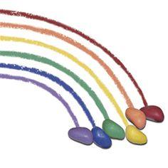 Crayon pebbles!