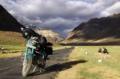 Who says the journey has to end, once you've reached your destination?  Ladakh,India.