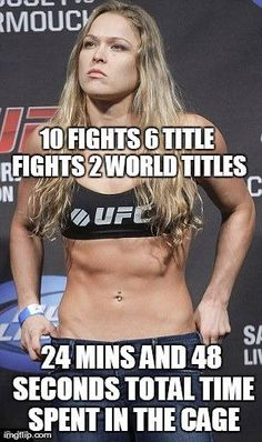 Broiled Sports: Ronda Rousey is One Bad MoFo....